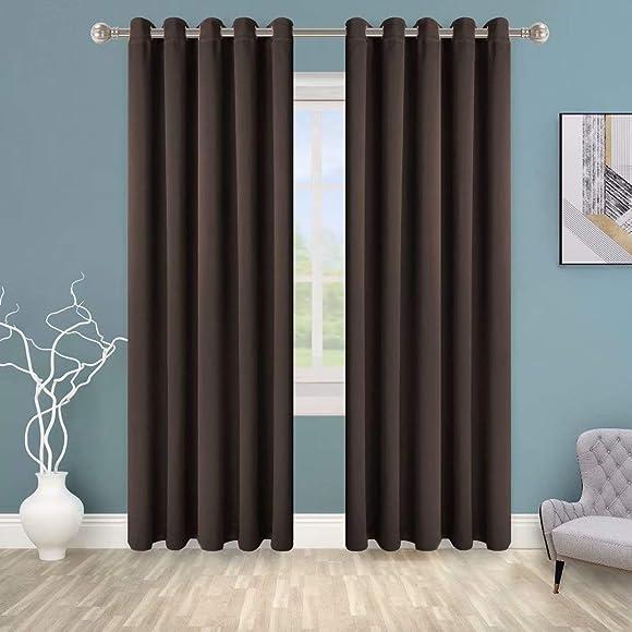 BONZER Grommet Blackout Curtain