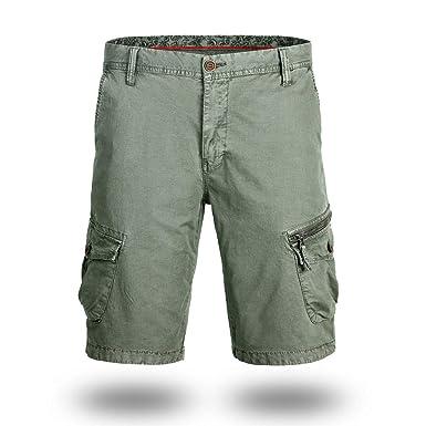 BASACA - Pantalón Corto para Hombre y niño, para Estudiantes ...
