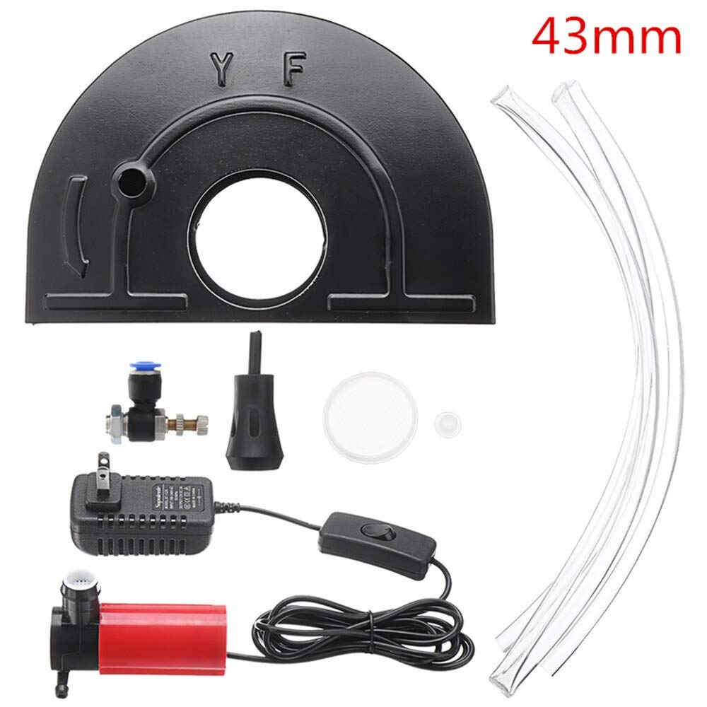 Water Pump Protector Angle Grinder Shield Set With Pump Wheel Guard Safety Protector Cover Water Slotting Guard Pump Cutting Conversion Tool