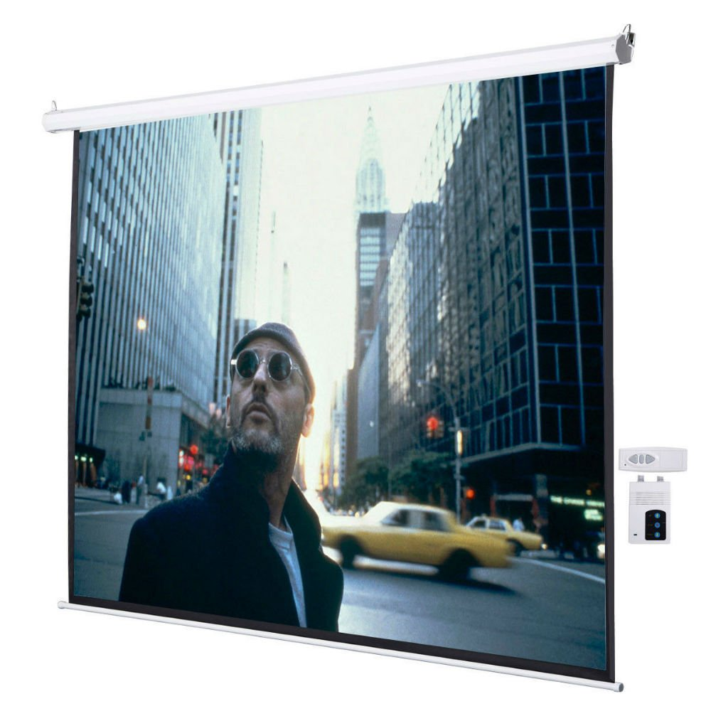 120'' 4:3 Electric Auto Projector Projection Screen 96''x72'' Remote Control by Unknown (Image #1)