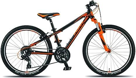 KTM Wild Speed 24, bicicleta infantil, 2015, negro mate naranja RH ...