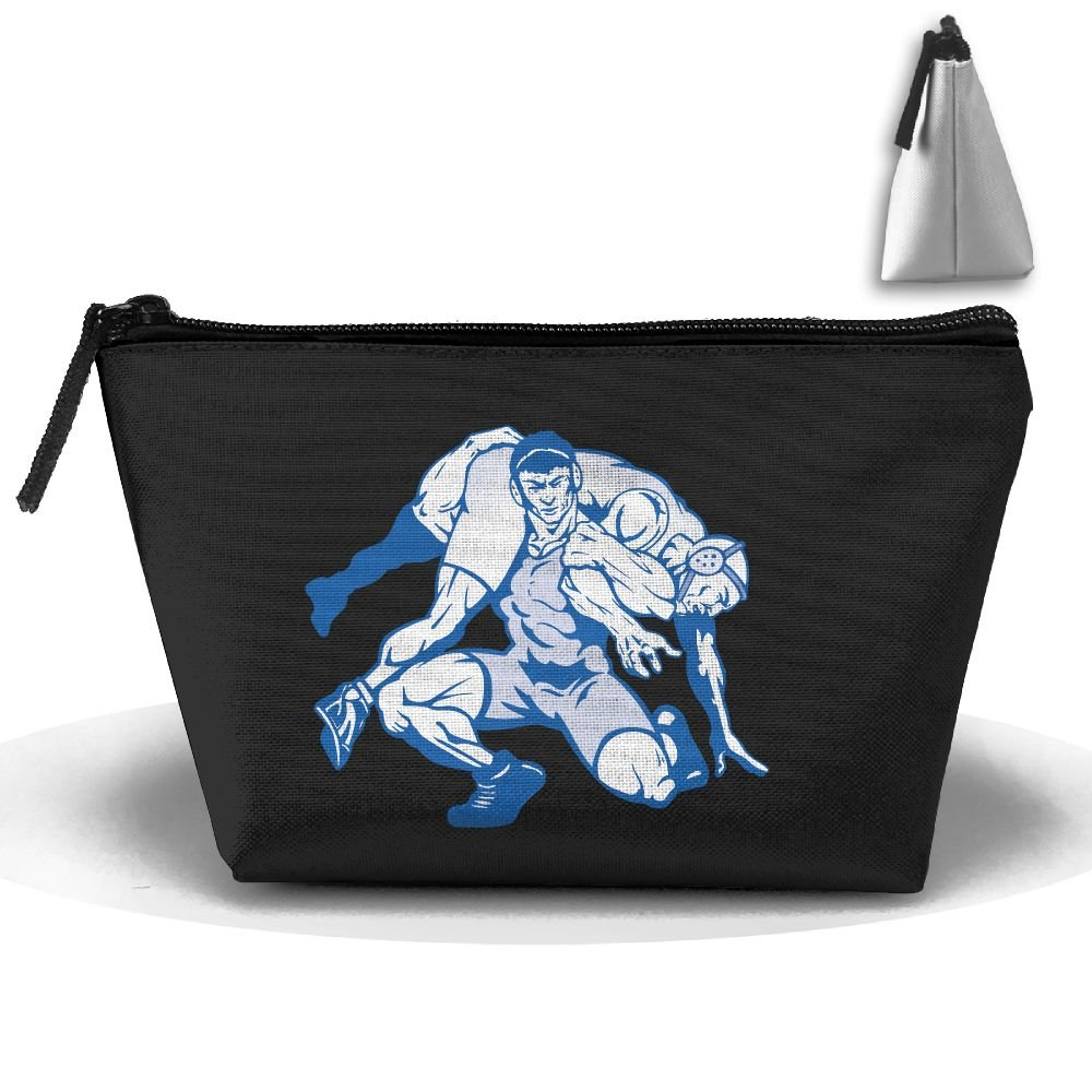 Trapezoid Portable Travel Toiletry Pouch Wrestling Sport Man Cosmetic Bags Multifunction Clutch Bag