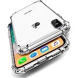 UGREEN Funda para iPhone XS MAX, Transparente Carcasa para iPhone XS MAX Absorcion de Choque Cojín de Esquina…