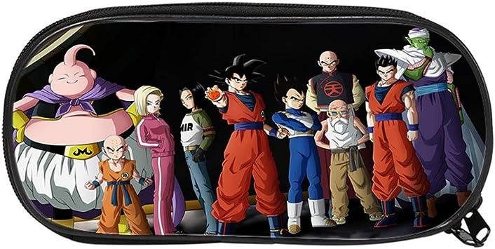 Dragon Ball Estuche de Lápices Bolsas de la Caja de lápiz lápiz niños Bolsa de Almacenamiento Populares del Estudiante de Bolsas (Color : A01, Size : 21 X 10 X 5cm): Amazon.es: Equipaje