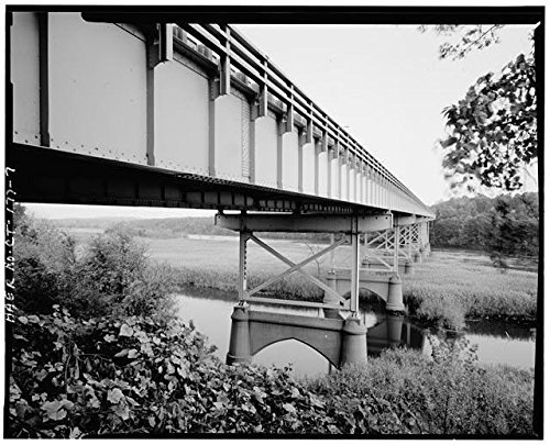 Photo: Bridge No. 00761,Milford,New Haven County,Connecticut,CT,HABS,Housatonic River,6 (Great Wall New Milford Ct)