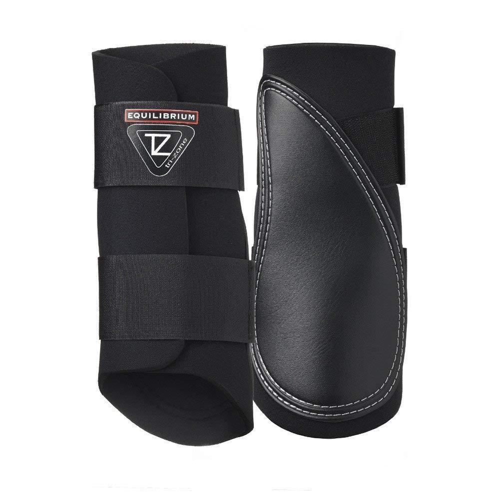 Black X Small Black X Small Equilibrium Tri-Zone Brushing Boot (X Small) (Black)
