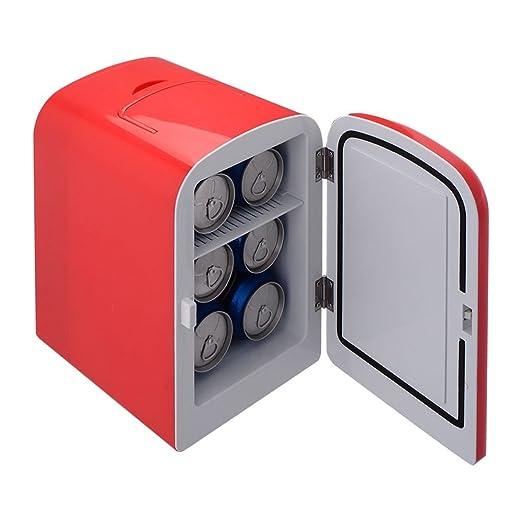 pittayadomeshop Mini Nevera portátil Enfriador y Calentador Auto 6 ...