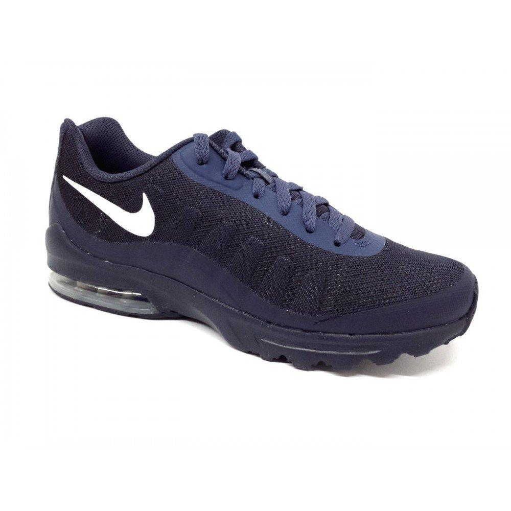 NIKE Men's Air Max Invigor Print Running Shoes B072BG1VQB 10 D(M) US|Thunder Blue/Vast Grey/Obsidian