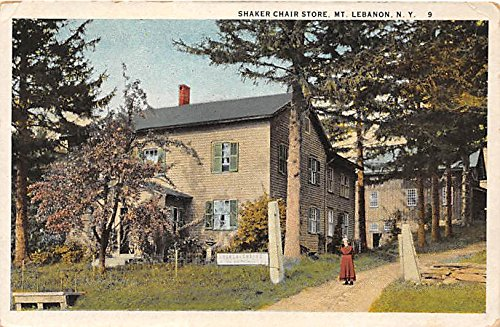 Shaker Chair Store Mount Lebanon, New York, NY, USA Postcard