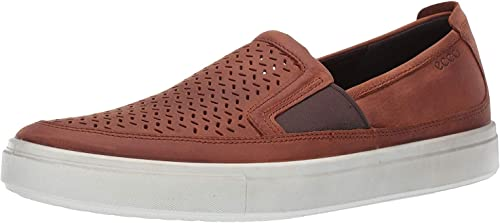 Kyle Perforated Slip On Fashion Sneaker