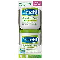 Cetaphil Moisturizing Cream for Very Dry, Sensitive Skin, Fragrance Free, 20 Oz...
