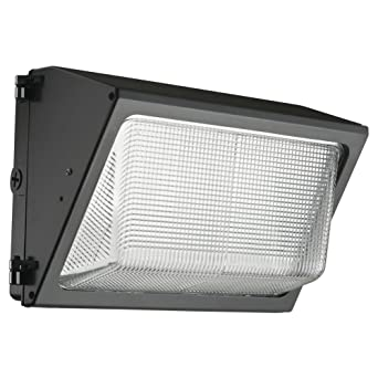 Lithonia Lighting TWR1 LED 1 50K MVOLT NAHD M2 LED Outdoor Wall Pack, 7-1/2 X 12-47/50 in, Dark Bronze, LED Integrated Panel Array included: Amazon.es: Industria, empresas y ciencia