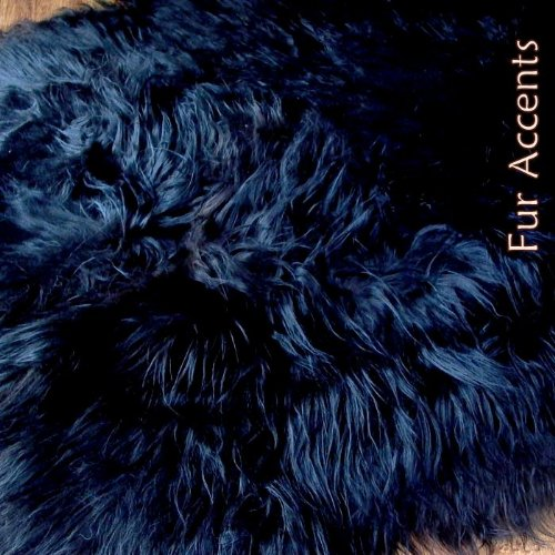 Fur Accents Faux Fur Area Rug / Long Hair Icelandic