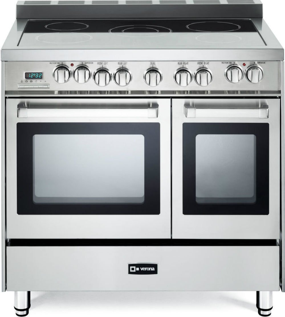 Verona VEFSEE365DSS 36' Electric Double Oven Range Convection Stainless Steel