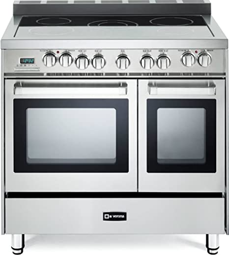 36 Electric Range >> Verona Vefsee365dss 36 Electric Double Oven Range Convection Stainless Steel