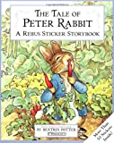 The Tale of Peter Rabbit Sticker Rebus Book, Beatrix Potter, 0723245215