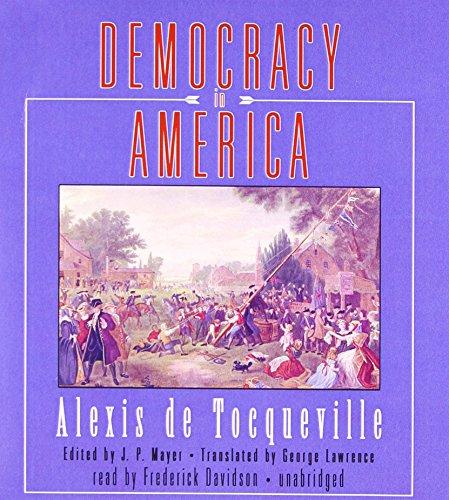 Democracy in America by Blackstone Audio