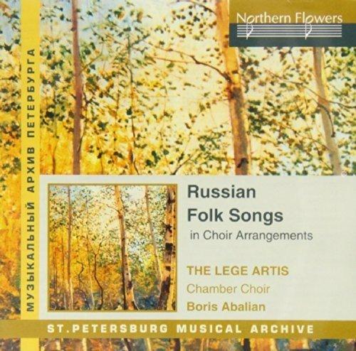 Russian Folk Songs in Choral - Arrangements Choral Song Folk