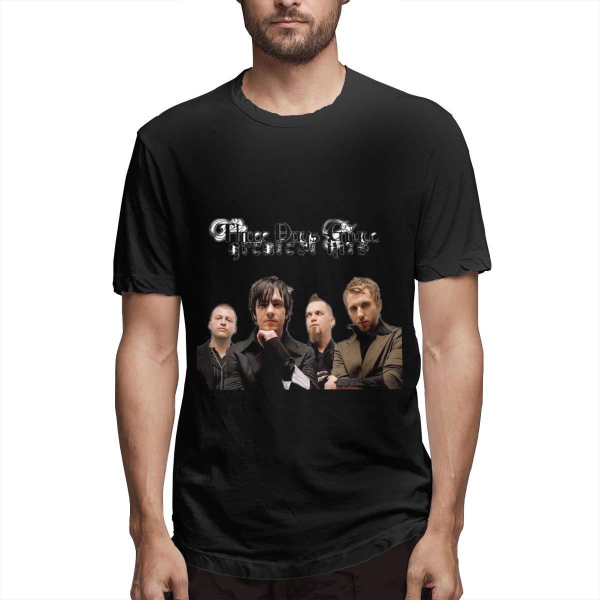 Lihehen Three Days Grace Round Neck T Shirt