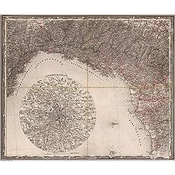 "Map Poster - Genova - 24""x20"""