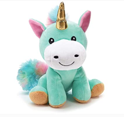 Amazon Com Rainbow Unicorn Stuffed Animal Plush Toy For Girls 8
