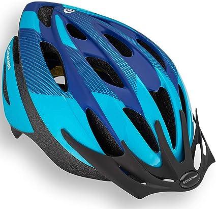 Road MTB Lightweight Bike Bicycle Helmet Visor /& LED Rear Dial Light 55-58cm