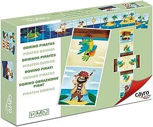 Cayro - Dominó Piratas— Juego de observación y lógica - Desarrollo de Habilidades cognitivas e inteligencias múltiples (878): Amazon.es: Juguetes y juegos