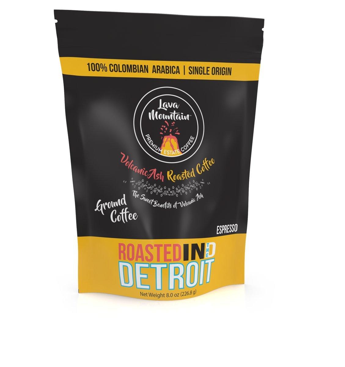 Lava Mountain Single Origin Colombia 8 oz Ground Coffee, Espresso Image
