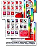 Fortune Telling with Playing Cards ~ Glossy Laminated Quick Reference Sheets