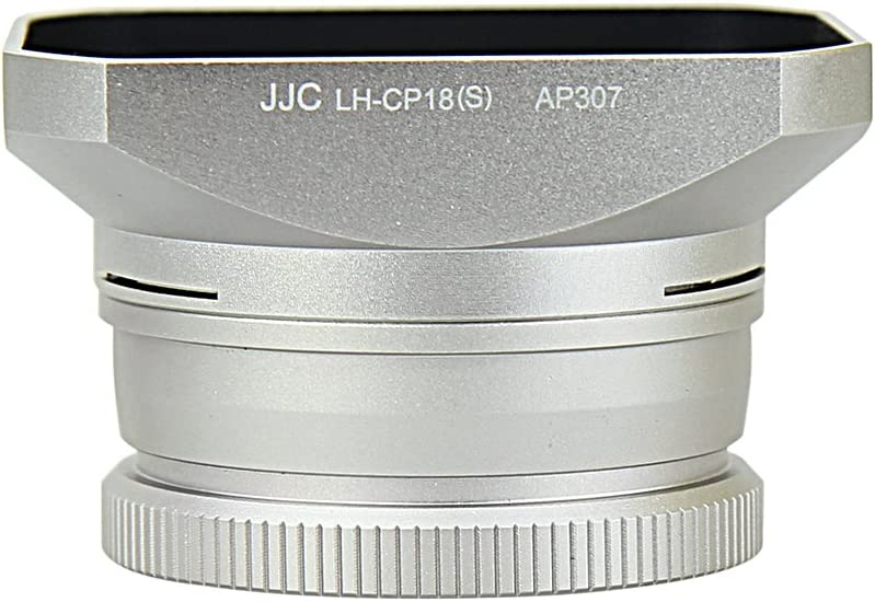 Silver Nikon UR-E24 Filter Adapter and HN-CP18 Lens Hood Set for COOLPIX A Camera