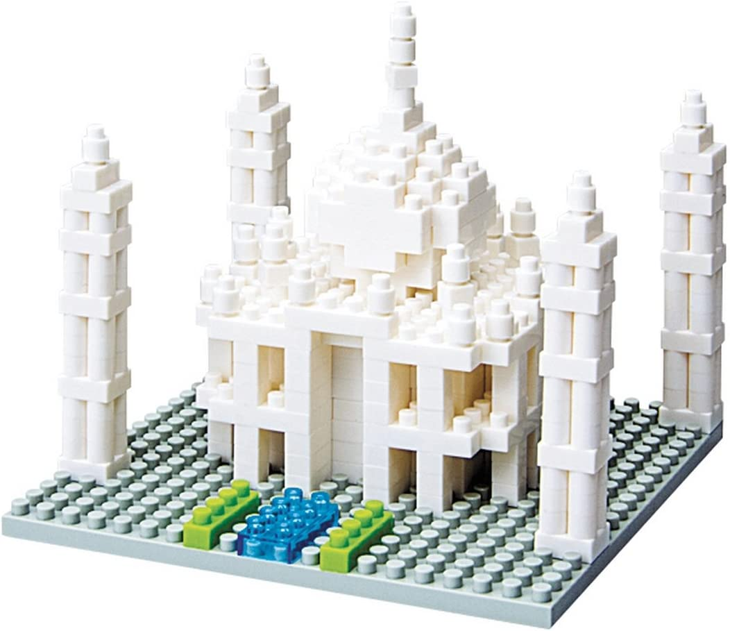 Taj Mahal Nanoblock Architecture NBH-008