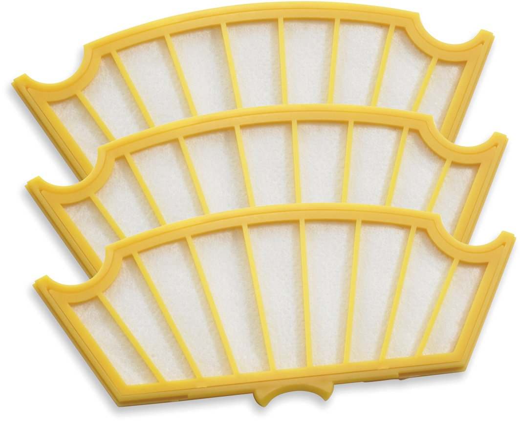 iRobot 81501 Roomba Air Filter 3-Pack for 500 Series