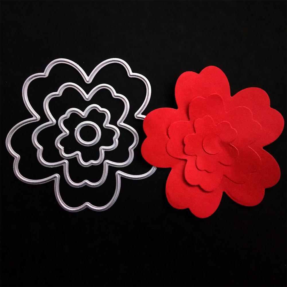 Bloosom Blumen Stanzformen Scrapbooking Foto Dekor Präge machen