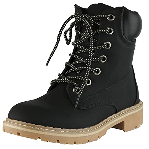 8ab3b755ef8 Cambridge Select Women's Work Combat Military Lace-Up Lug Sole Boot