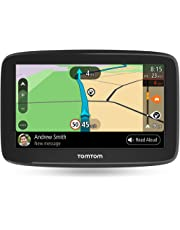 Navigatore TomTom GO Basic GPS, 5 Pollici, con Aggiornamenti Tramite Wi-Fi, Traffic a Vita Tramite Smartphone e Mappe UE, Messaggi dello Smartphone, Schermo Resistivo