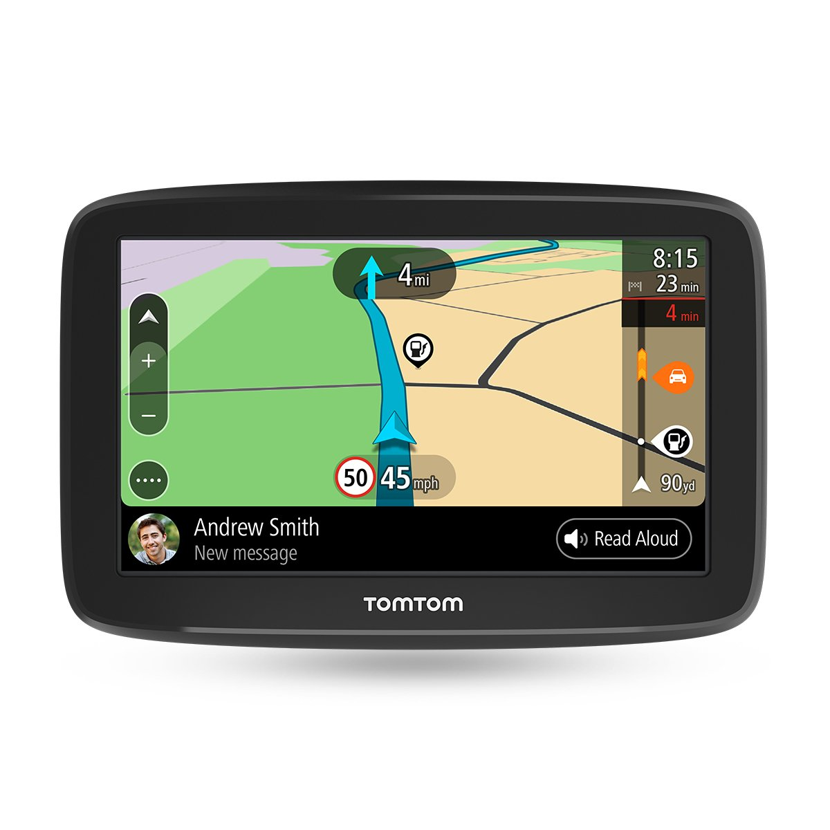 TomTom GO Basic - Navegador para coche, 6 pulgadas, actualizaciones mediante Wi-Fi, traffic para toda la vida mediante smartphone y mapas de la UE, ...