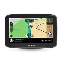 TomTom Car Sat Nav GO Basic, 5 Inch with Updates viaWi-Fi, Lifetime Traffic via Smartphone and EU Maps, Smartphone Messages, Resistive Screen
