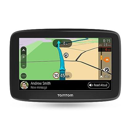 TomTom GO Basic - Navegador para coche, 6 pulgadas, actualizaciones mediante Wi-Fi