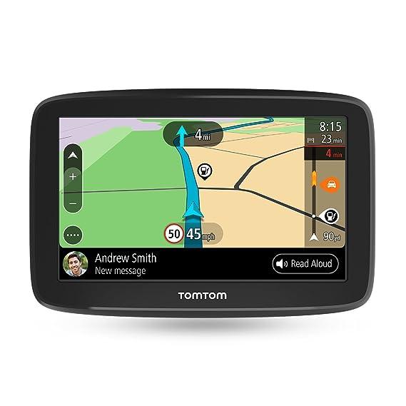 TomTom GO Basic - Navegador para coche, 5 pulgadas, actualizaciones mediante Wi-Fi, traffic para toda la vida mediante smartphone y mapas de la UE, ...