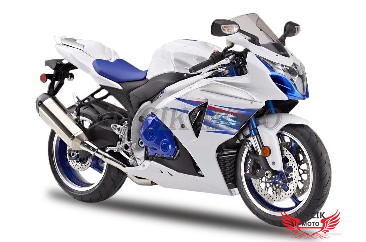 VITCIK (Kit de Carenado para Suzuki GSXR1000 K9 2009 2010 2011 2012 2013 2014 2015 2016) Accesorios de repuesto para bastidor y carrocería con completo para ...