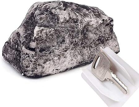 Clave ocultar clave piedra - Jardín Rock oculta Llaves ...