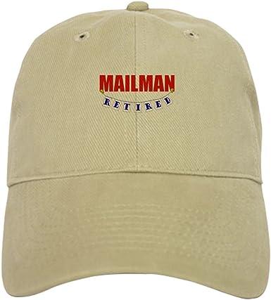RETIRED POSTMAN PERSONALISED BASEBALL CAP GIFT RETIREMENT