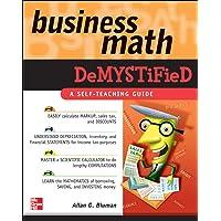 Amazon Best Sellers Best Business Mathematics