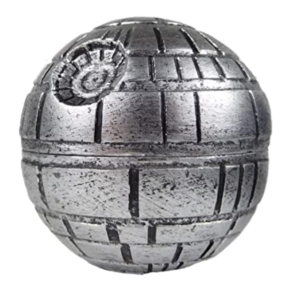 Formax420 Estrella de la muerte de la estrella Grinder Grinder Guerra Ronda 3 Piezas de la trituradora