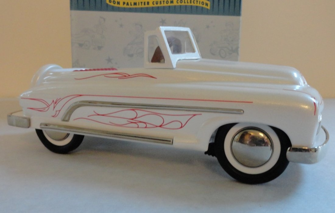 MIB Hallmark Kiddie Car Classic 1950's Custom Convertible QHG7101 by 1950's Custom Convertible