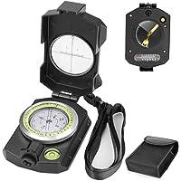 Multifunctioneel Militair Kompas Lensatic Waarneming Navigatie Achort Waterdicht Kompas met Inclinometer Thermometer en…