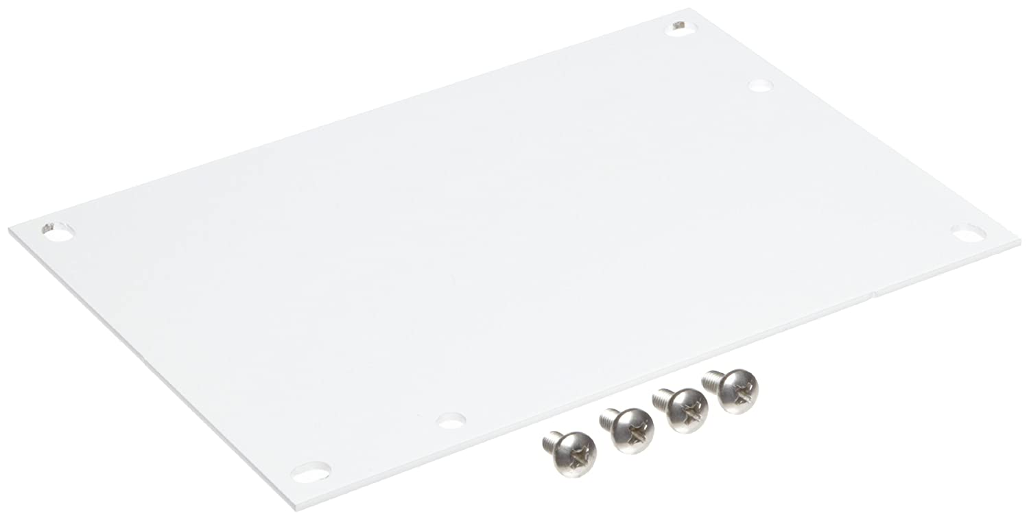 Integra SBP86 Steel Panel For Use With 8 x 6 Enclosure 4.88 Width 6.75 Height