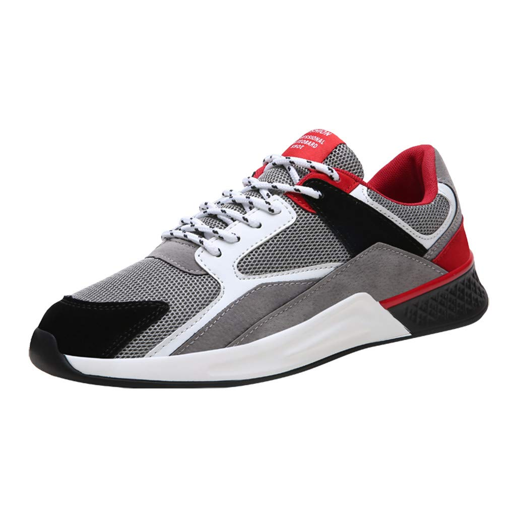 Men's Casual Running Sport Shoes Outdoor Walking Athletic Memory Fit Casual Comfort Training Shoe Sneakers