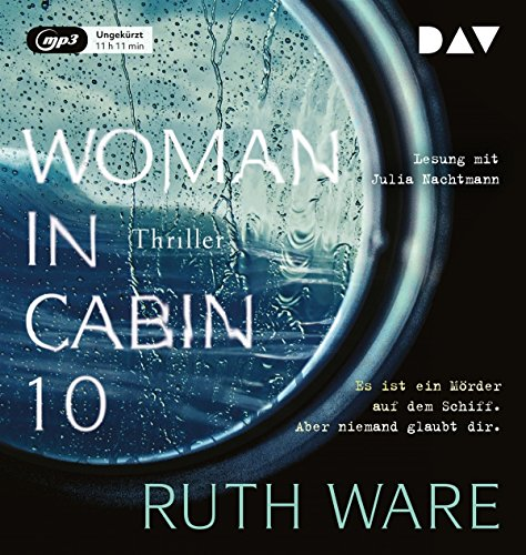 Book cover from Woman in Cabin 10by Ruth Ware