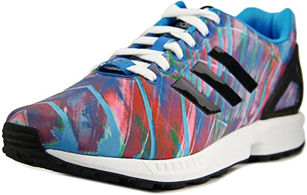 Amazon.com | adidas Men's ZX Flux Synthetic Running Shoes | Road ...